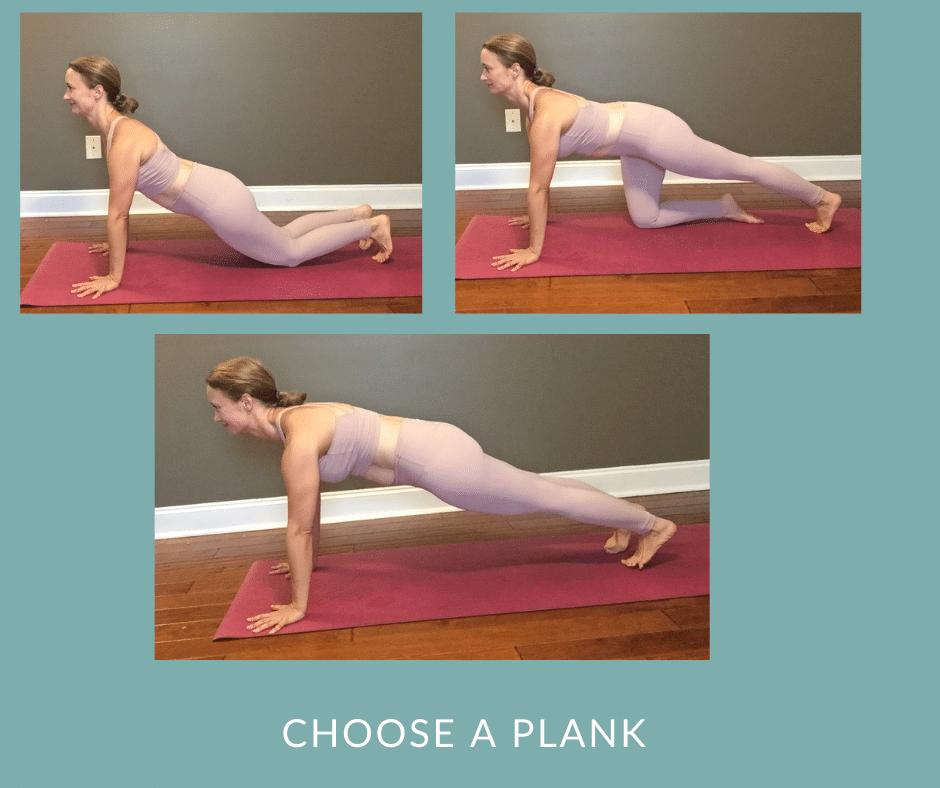 Postpartum Core Yoga   Plank Variations